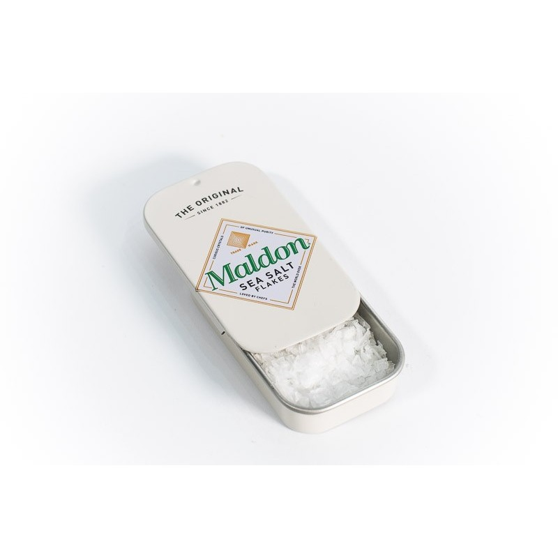 Szczypta soli MALDON w puszce