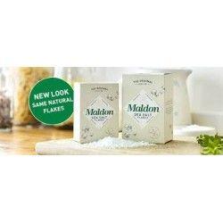 Sól morska wędzona w płatkach MALDON 500g
